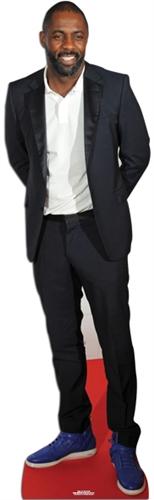 Idris Elba Life-sized cardboard cutout