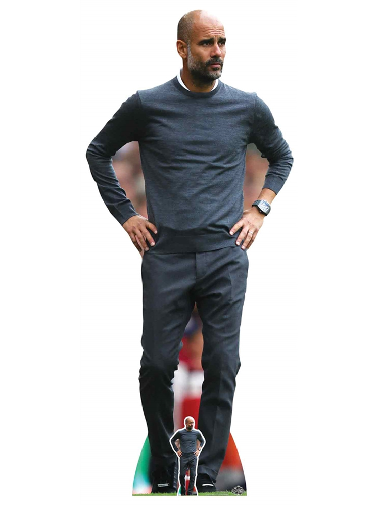 Pep Guardiola Football Manager Cardboard Cutout