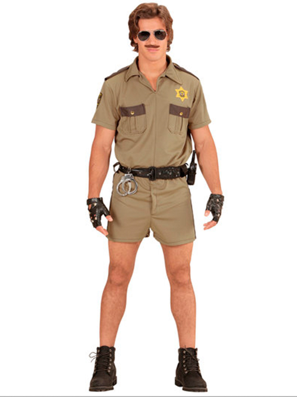 California H/Way Patrol Officer Costume  *only one in stock *