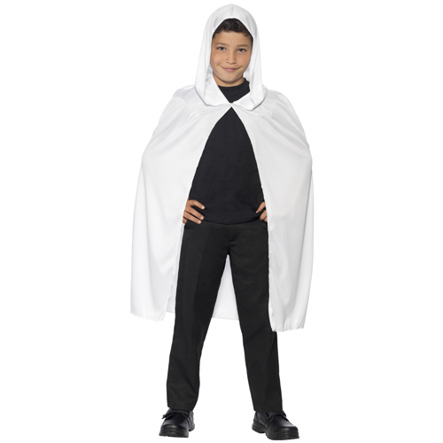 Cape Hooded White