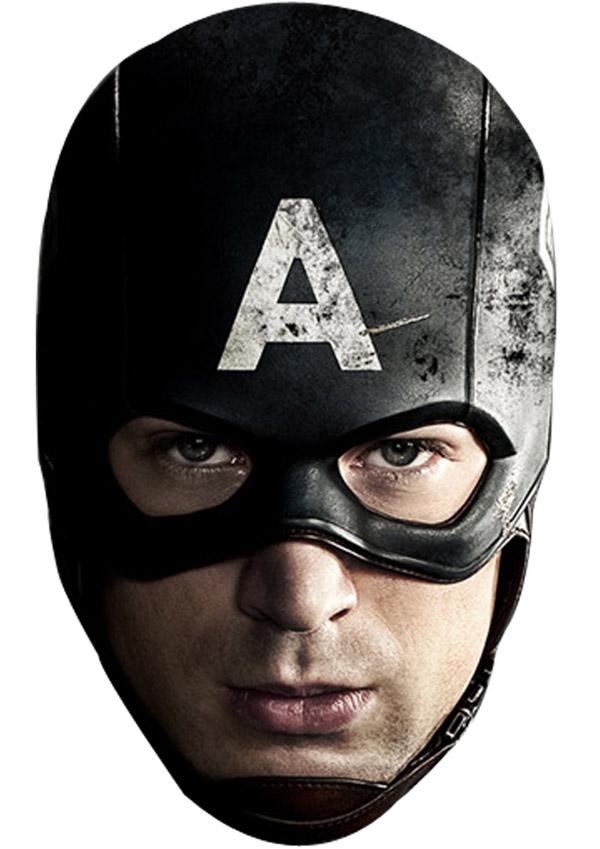 captain america mask - Masque Captain America