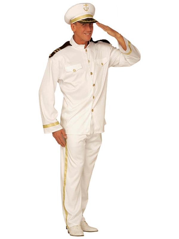 Captain Costume (Jacket Pants Hat)