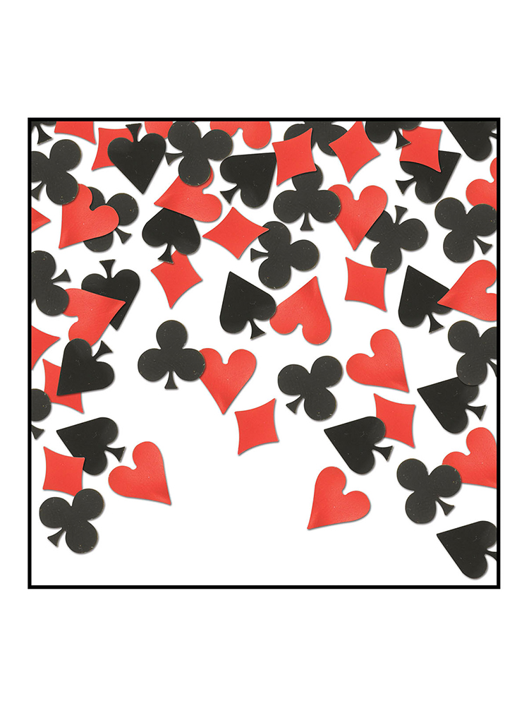 Card Suit Table Confetti