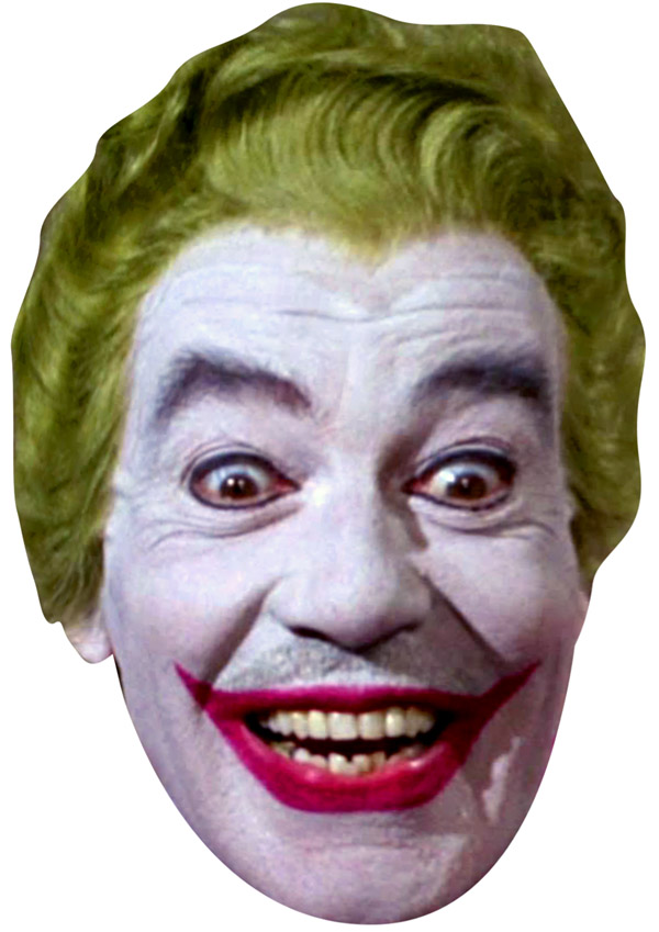 Cesar Romero Joker Face Mask
