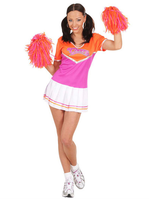 Cheerleader Costume - 2 Colours
