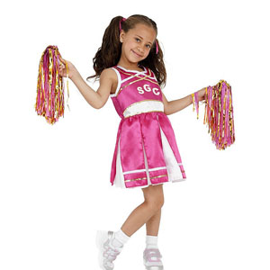 Childs Cheerleader Costume