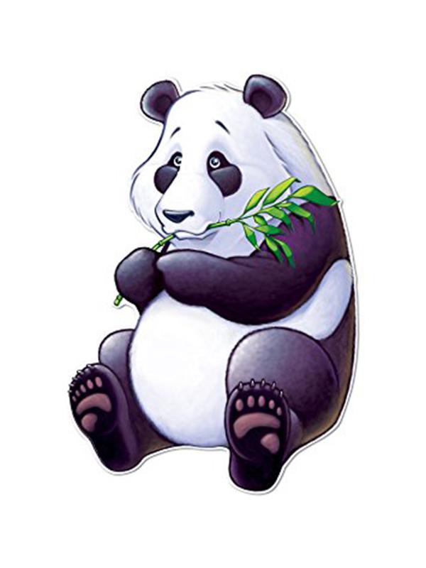 Chinese Panda Cutout