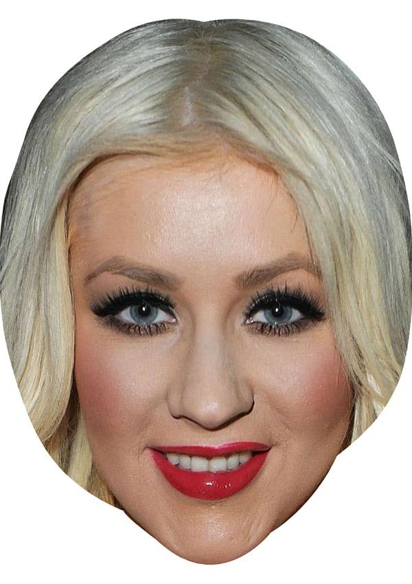 Christina Aguilera Mask