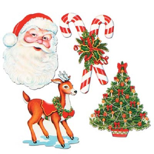"Christmas Cutouts 16""-17"""