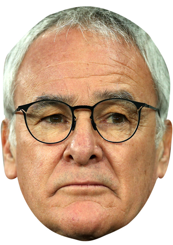 Claudio Ranieri Mask