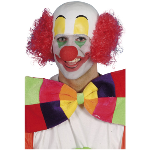 Clown Rubber Top Wig
