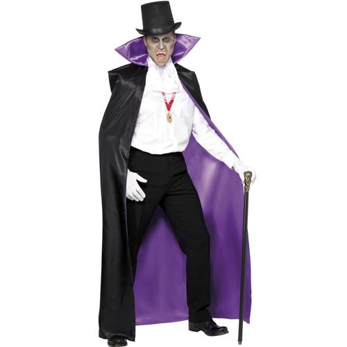 Count Reversible Cape, Black and Purple