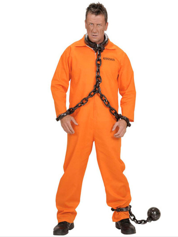 County Jail Inmate Costume