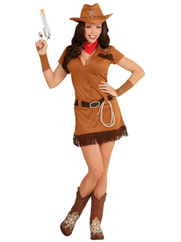 Cowgirl Costume - Brown