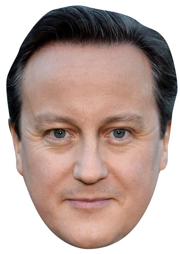 David Cameron Mask