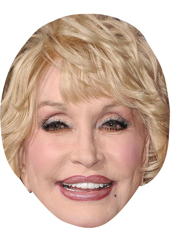 Dolly Parton Mask