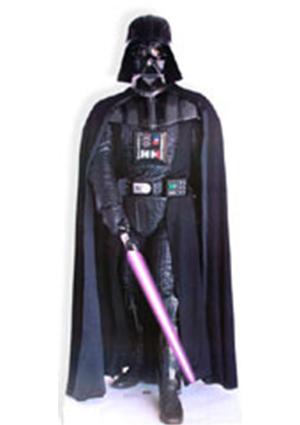 Darth Vader With Lightsaber (Star Wars) Cardboard Cutout
