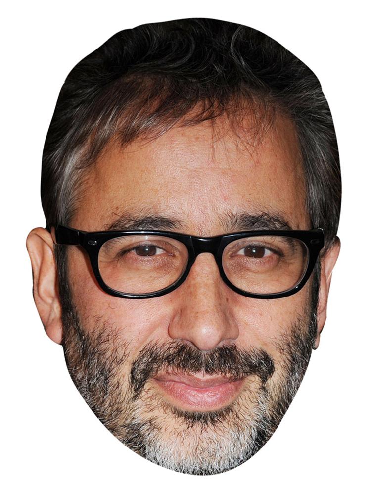 David Baddiel Mask
