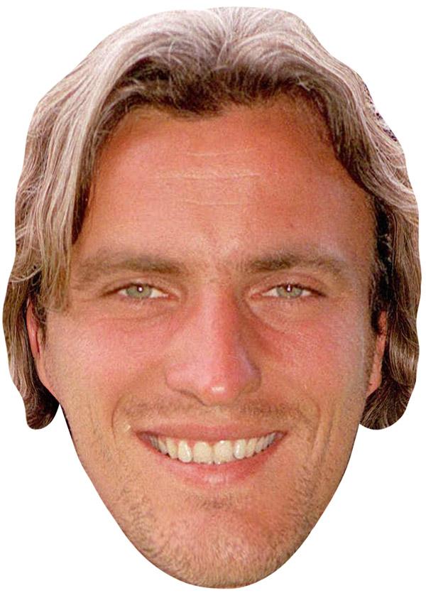 David Ginola Young Mask