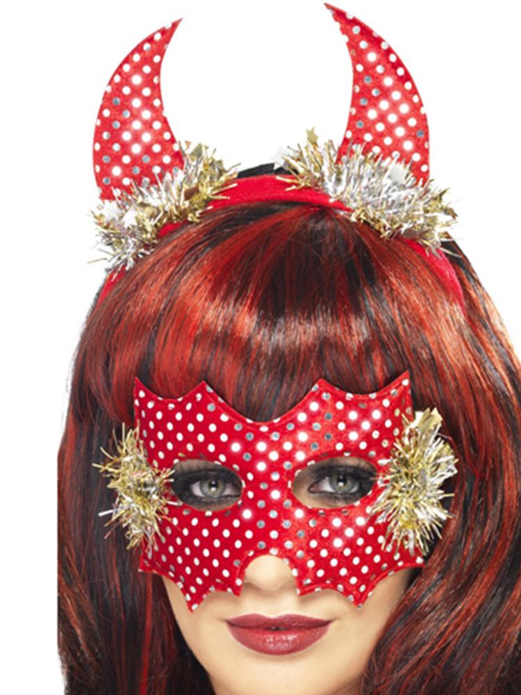 Devildina Mask and Horns Set