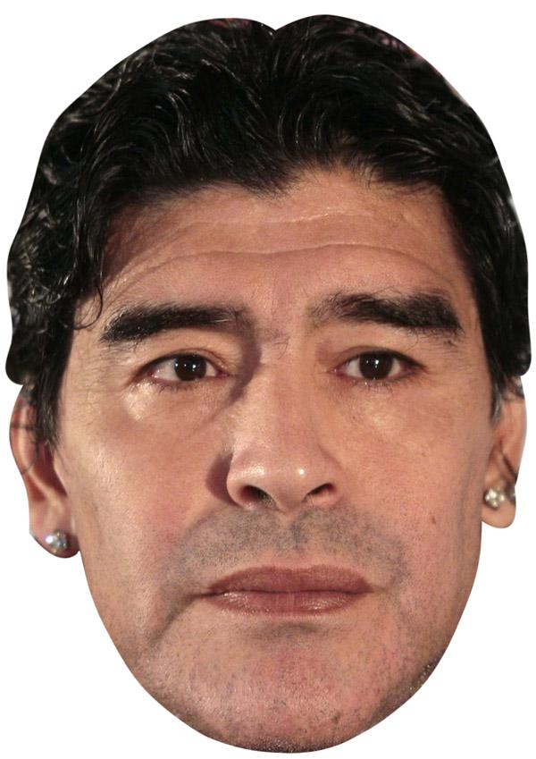 Diego Maradona Mask