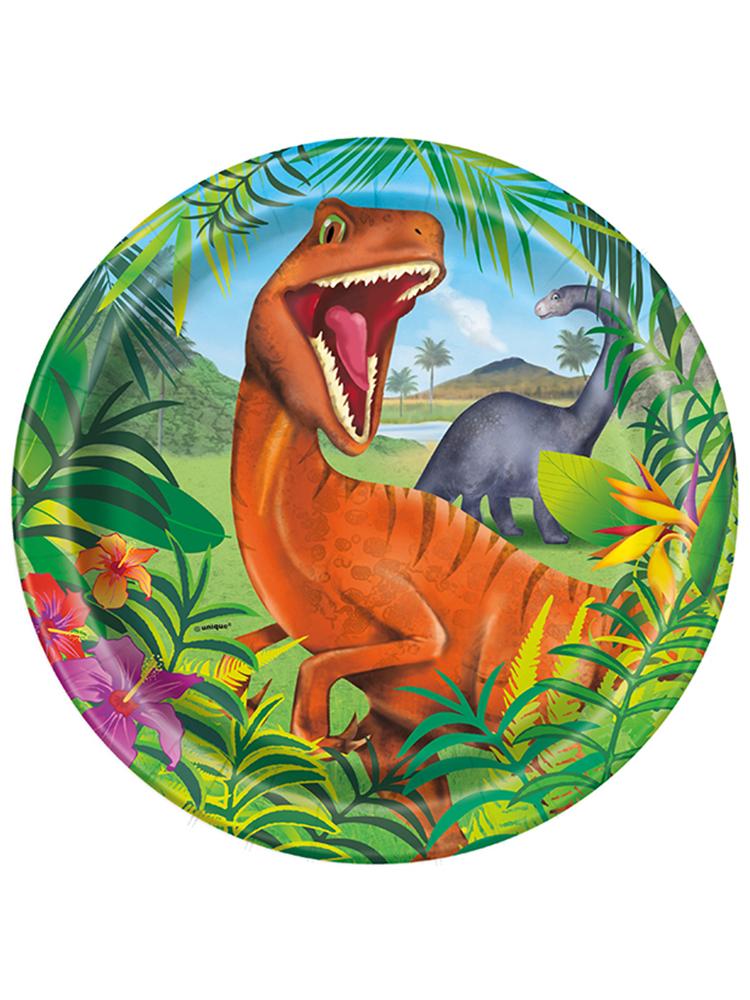 """Dinosaur Plates 9"""""""