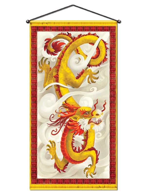 Dragon Wall/Door Panel