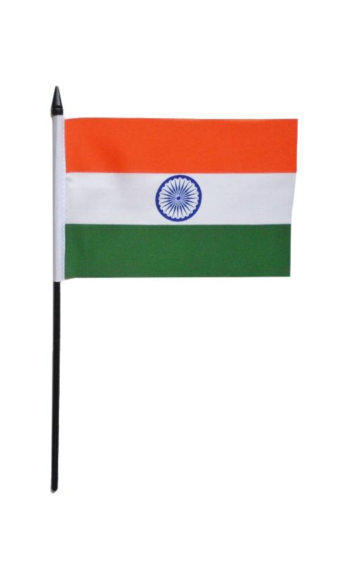 India Hand Waving Flag