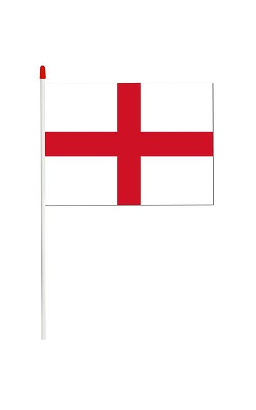 England Hand Held Flag