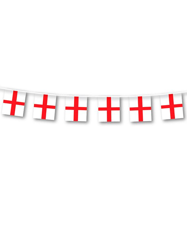 England St George Plastic Bunting
