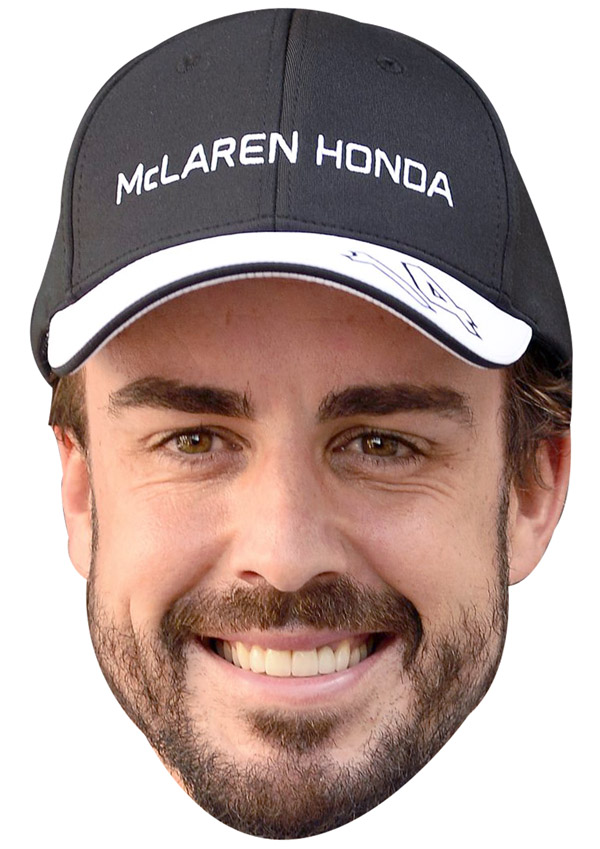 Fernando Alonso Cap Mask