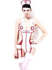 Fever Nurse Bodysuit Costume