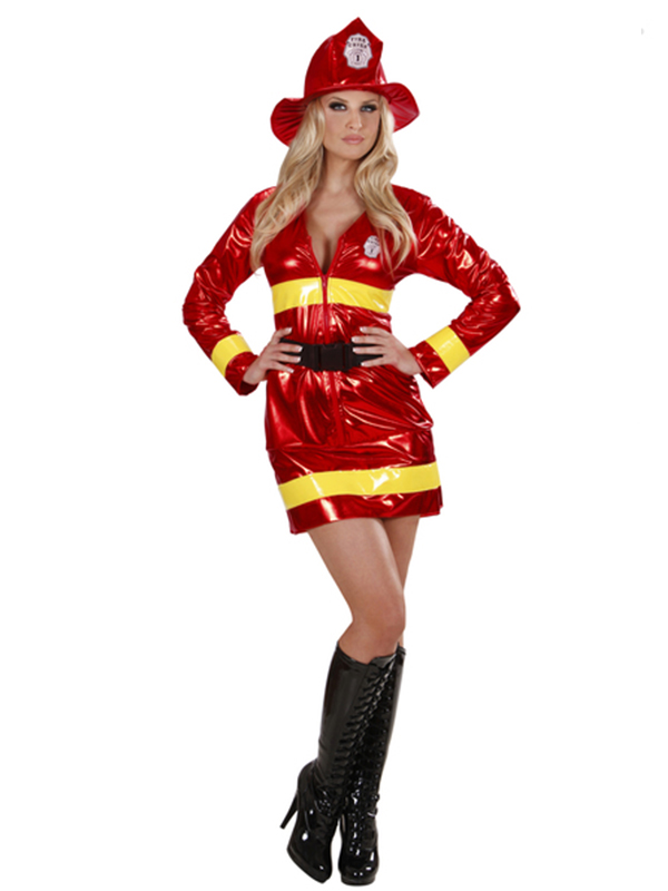 Firefighter Metallic - (Dress Belt Hat)