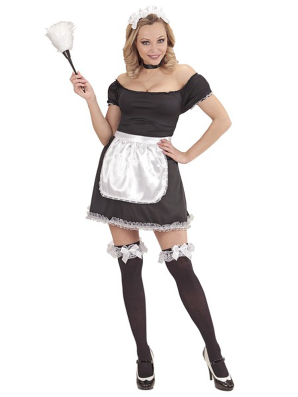French Maid (Dress, Apron, Choker and Headpiece)