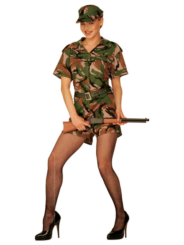 G I Jane Costume (Dress Belt Hat)