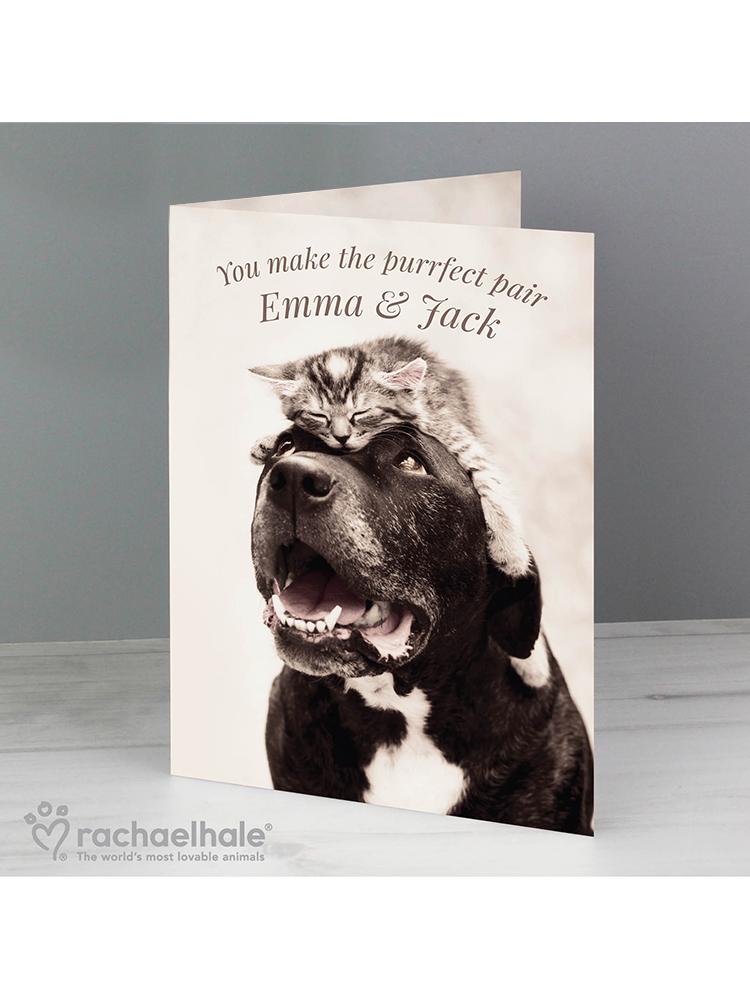 Personalised Rachael Hale Puurfect Pair Card
