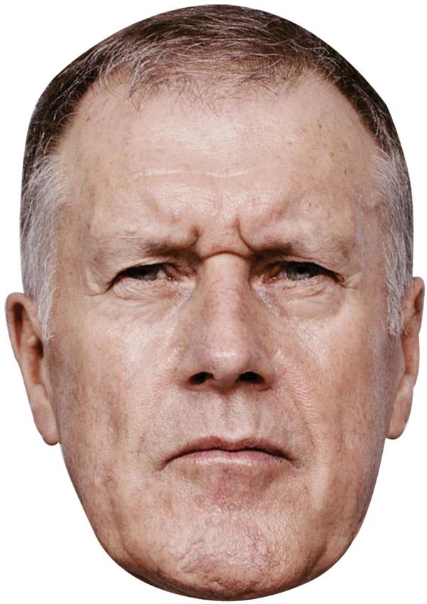 Geoff Hurst Mask
