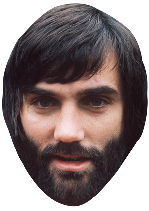 George Best Beard Mask - Novelties (Parties) Direct Ltd