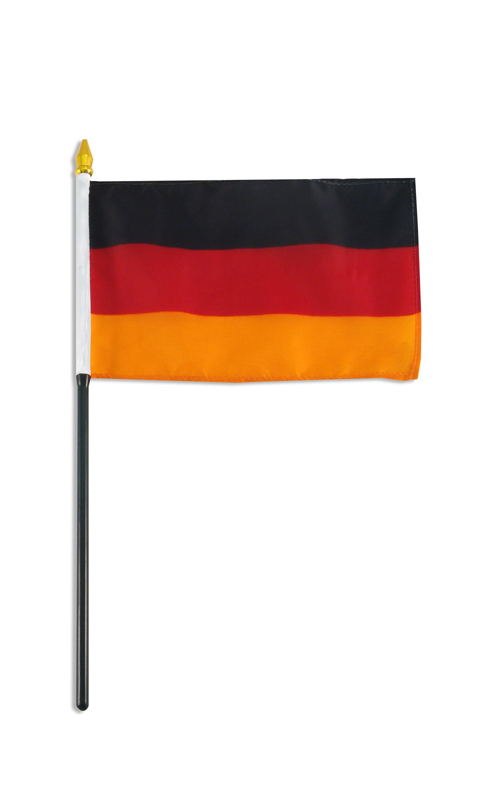 Germany  Hand Held Flag