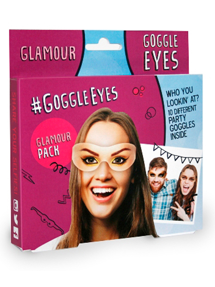 Glamour Goggle Eye Glasses