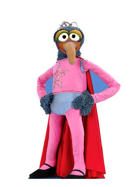 Gonzo From The Muppets Cardboard Cutout Novelties