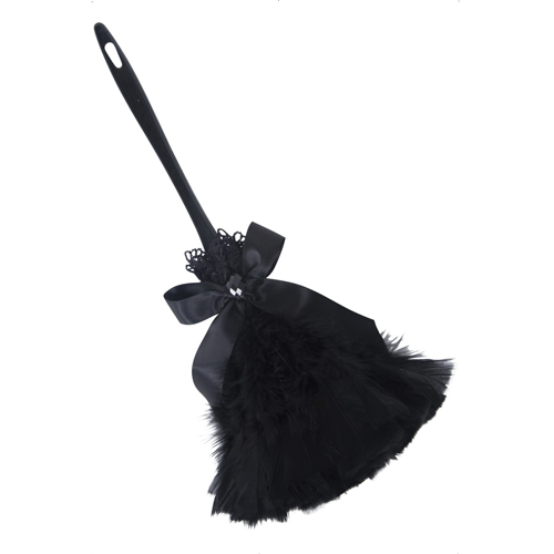 Gothic Feather Duster, Black