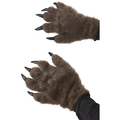 Hairy Monster Hands, Brown