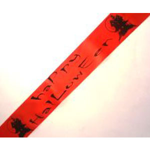Halloween Sash with House Design