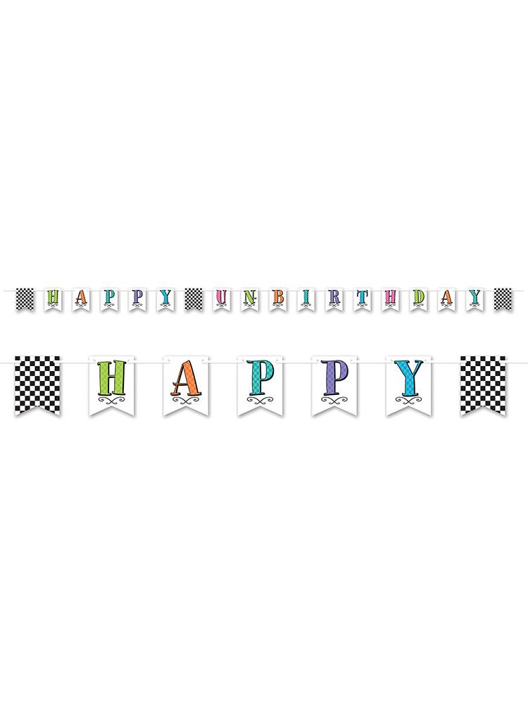 Happy Un-Birthday Bunting