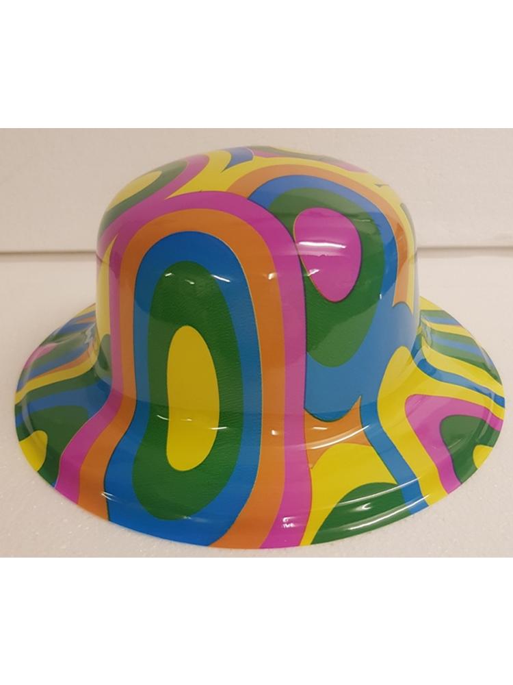 Circle Bowler Hat