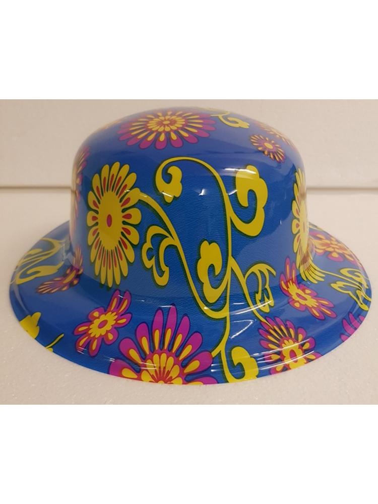 Flower & Stem Bowler Hat
