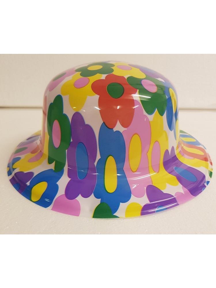 Flower Bowler Hat