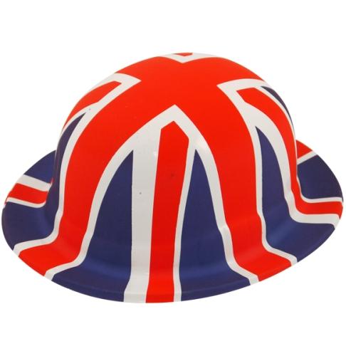 Union Jack Bowler Hat