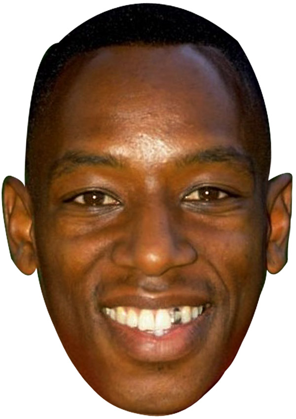 Ian Wright Young Mask
